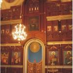 """Иконостасът на църквата """"Успение Богородично"""""""