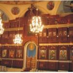 """Иконостасът на църквата """"Успение Богородично"""" в с.Узунджово, Хасковско, изработен в ателието на уста Дарин 2007 г."""